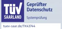 TK43744 Prüfzeichen Gotthardt Healthgroup TÜV geprüfter Datenschutz 2019...